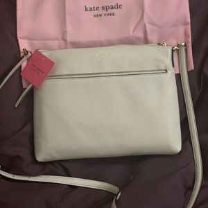 NWT Kate Spade Polly Leather Crossbody